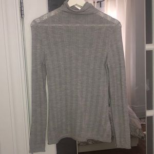 Aritzia babaton sweater in heather grey